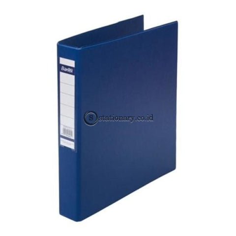 Bantex Ring Binder 3 D 25Mm A4 #8322 Blue - 01 Office Stationery