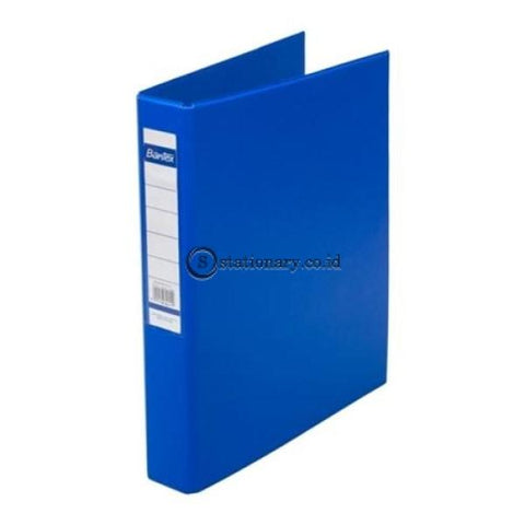 Bantex Ring Binder 3 D 25Mm A4 #8322 Cobalt Blue - 11 Office Stationery