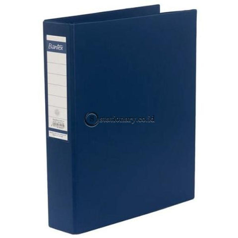 Bantex Ring Binder 3 Holes 40Mm A4 #8342 Black - 10 Office Stationery