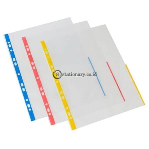 Bantex Signal Pocket Antiglare 25 Sheets A4 #2050 Red - 09 Office Stationery