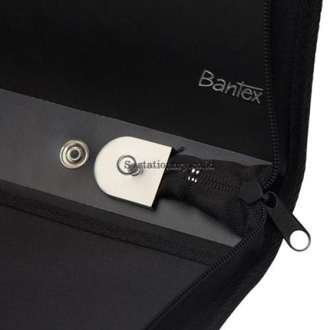 Bantex Stitching Artist Portfolio A2 Black #8005 Office Stationery