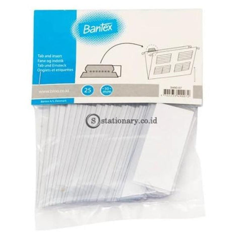 Bantex Tab For Suspension File (25 Pcs) #3490 00 Office Stationery
