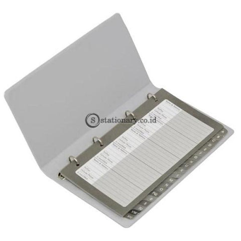 Bantex Telephone & Address Book #5591 Grey - 05 Office Stationery