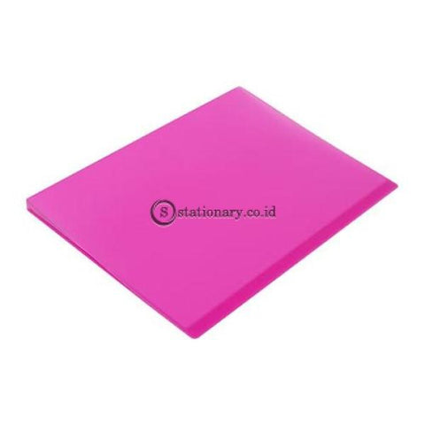 Bantex Trendy Display Book A4 (20 Pockets) #3133 Pink - 19 Office Stationery