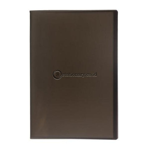 Bantex Trendy Display Book Folio 20 Pockets #3193 Black - 10 Office Stationery