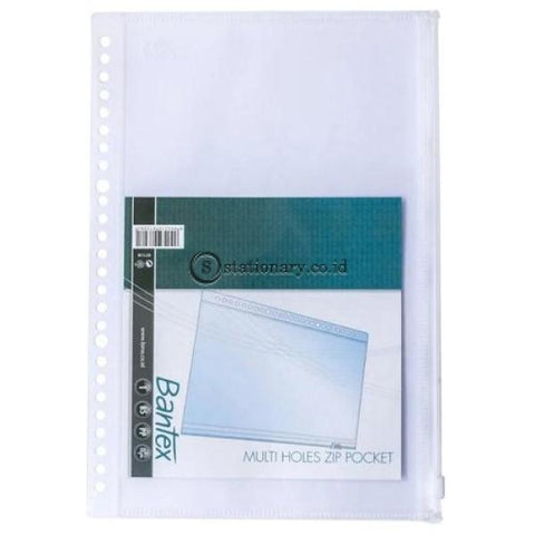 Bantex Zipper Pocket For Mutiring Binder B5 26 Holes #8073 Office Stationery
