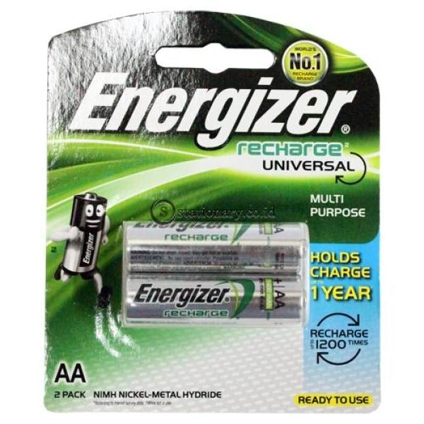 Baterai Energizer Aa Rechargeable Universal Office Stationery