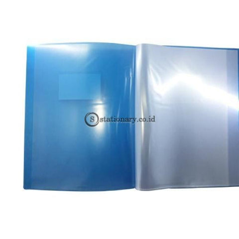 Bazic Clear Holder Album A4 20 Sheets (With Card Holder) #414 Office Stationery