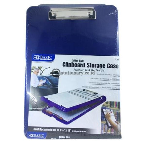Bazic Clipboard Storage Case A4 #1810 Office Stationery