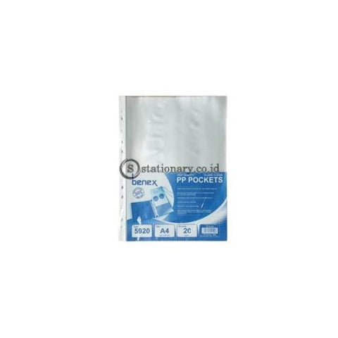 Benex Document Pocket A4 (Isi 20 Lbr) #5920 Office Stationery