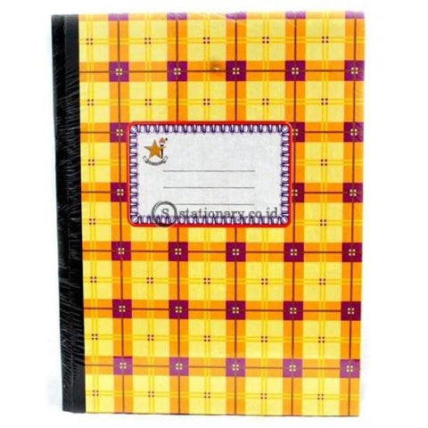 Bintang Obor Buku Hard Cover Kwarto 100 Halaman Office Stationery