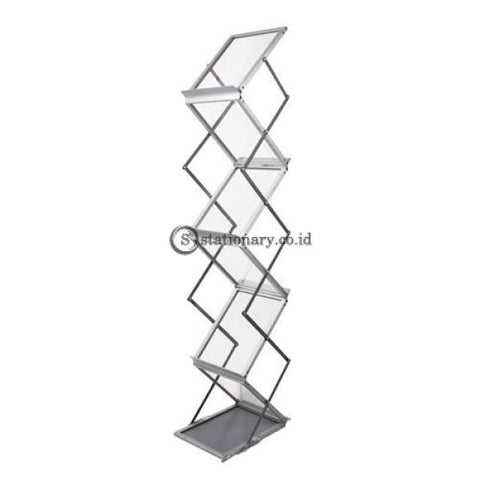 Brochure Rack Swingup With Carrying Bag Digital & Display Promosi Office Stationery