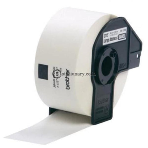 Brother Label Tape Dk-11208 (Cut 38Mm X 90Mm) Office Equipment