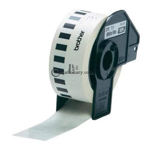 Brother Label Tape Dk-22211 Continuous Length Film White 29Mm X 15.24M Office Equipment