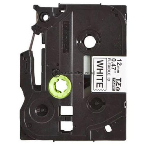 Brother Label Tape Tze-Fx231 Black On White 12Mm X 8M Office Equipment