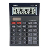Canon Desktop Calculator As-120R Hb 12 Digit Office Stationery