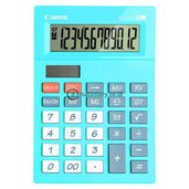 Canon Desktop Calculator As-120V 12 Digit Blue Office Stationery