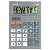 Canon Desktop Calculator As-120V 12 Digit Grey Office Stationery