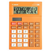 Canon Desktop Calculator As-120V 12 Digit Orange Office Stationery