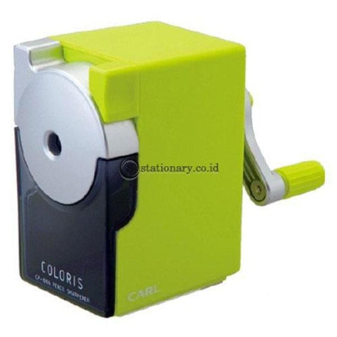 Carl Pencil Sharpener Green Cp-100A Office Stationery