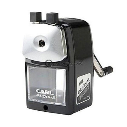 Carl Pencil Sharpener With Clamp A-5 Black Office Stationery