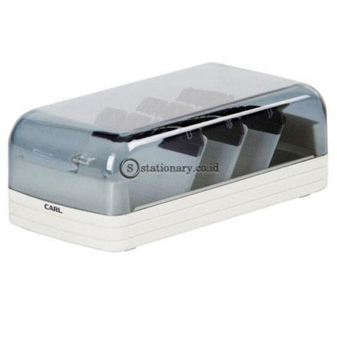 Carl Plastic Card File Case 860 860- White Office Stationery Promosi