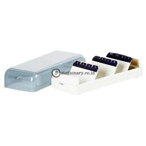 Carl Plastic Card File Case 870 870- White Office Stationery Promosi