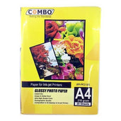 Combo Kertas Foto Photo Paper Glossy A4 210Gsm Office Stationery