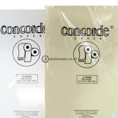 Concorde Kertas Cover 220Gram (Pack) Berisi 10 Lembar Office Stationery