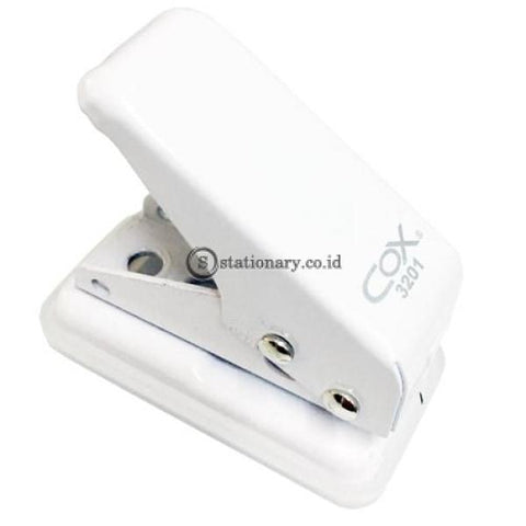 Cox One Hole Punch Holder Pembolong Kertas 1 Lubang Small #3201 Office Stationery