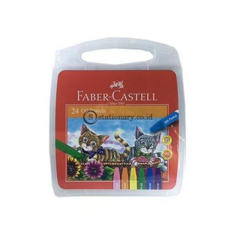 Crayon Faber Castell Oil Pastel Set 24 Colours Art No.120065Oc Office Stationery