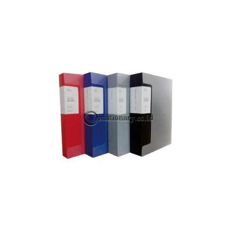 Daiichi Clear Holder Album A4 100 Pocket Classic Black Dpr06A4104100 Office Stationery Promosi