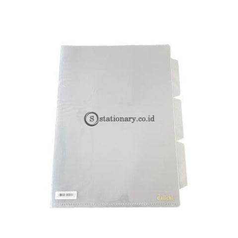 Daiichi Clear Sleeves 3 Tier A4 (240X315Mm) Pop Clear Dcs05A4-200003 Office Stationery