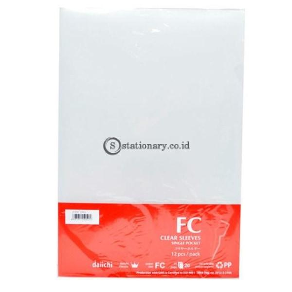Daiichi Dcs05 Clear Sleeve F4 / Folio (240X355Mm) Bening Office Stationery