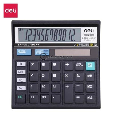 Deli Calculator Hitung 12 Digit W39231B Office Stationery