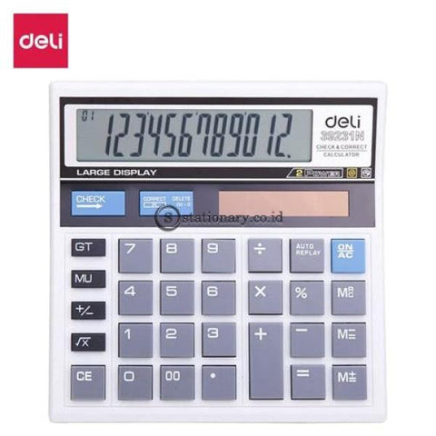 Deli Calculator Hitung 12 Digit W39231N Office Stationery