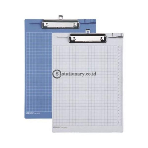 Deli Clipboard With Ruller 9240 Office Stationery Promosi