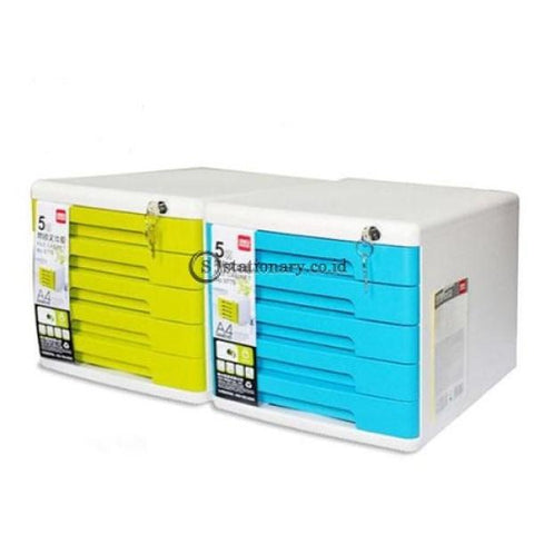 Deli File Cabinet 5 Susun 9779 Office Stationery Furniture Promosi