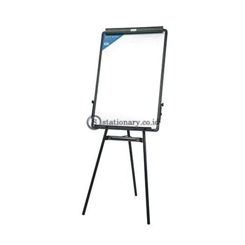 Deli Flipchart Easel Tripod Whiteboard 90 X 60 Cm Black E7892 Office Equipment