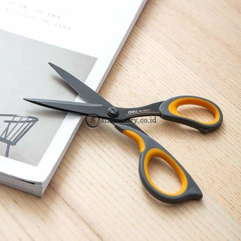Deli Gunting Soft Touch Scissors 175Mm E6027 Office Stationery