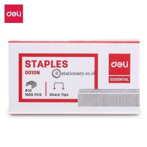 Deli Isi Staples Kecil (No.10) E0010N Office Stationery