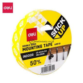 Deli Mounting Tape Foam 25.4Mmx5M Ea35113 Office Stationery