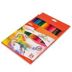 Deli Pensil Warna Colored Pencil Colorun 24 Ec00320 Office Stationery