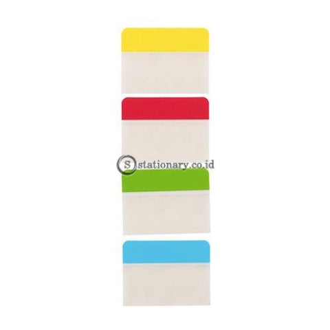 Deli Post It Memo Film Index Page Tabs 38X51Mm (4X10Sheet) Ea10802 Office Stationery