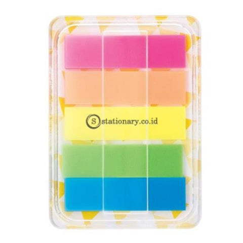Deli Post It Memo Film Index Page Tabs 44X12Mm (5X20Sheet) Ea10202 Office Stationery