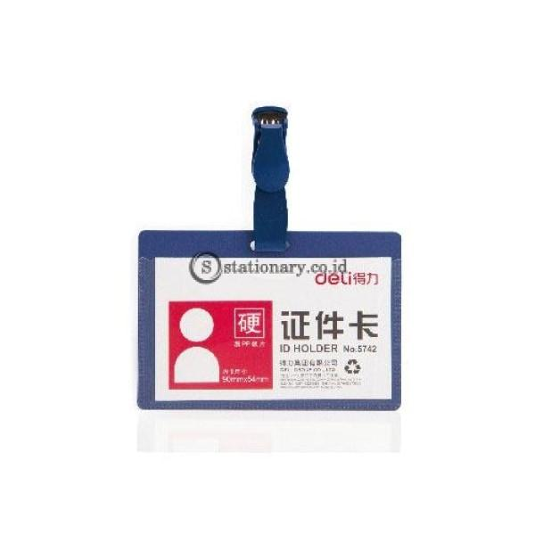 Deli Pp Id Holder Case Jepit E5742 Office Stationery