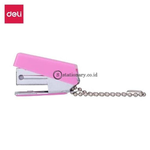 Deli Stapler Mini No10 With Key Chain E0225 Office Stationery