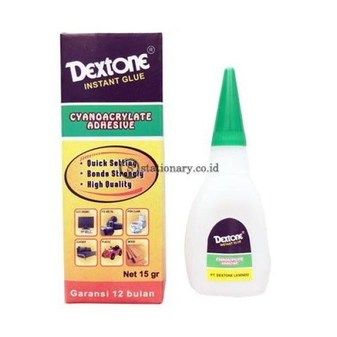 Dextone Lem Korea Instant Glue Sg 15 Gram Office Stationery