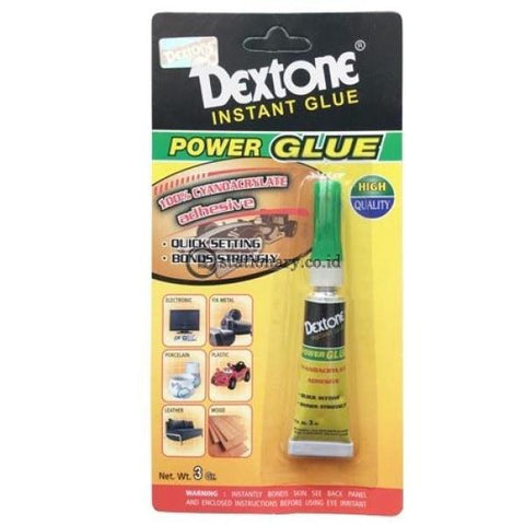 Dextone Lem Power Glue Pgb Hq Office Stationery