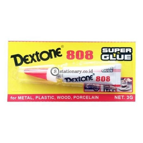 Dextone Lem Super Glue Sgl 808 Office Stationery